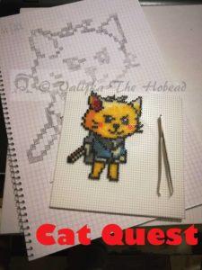 Pixel art de Cat Quest