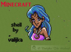 Pixel Art Shell Minecraft