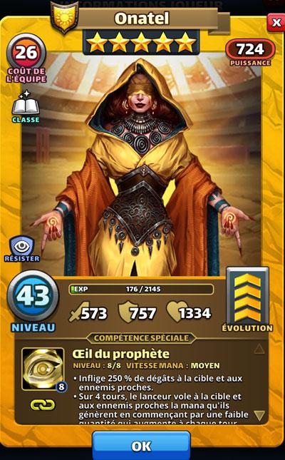 Illustration d'Onatel dans Empires & Puzzles