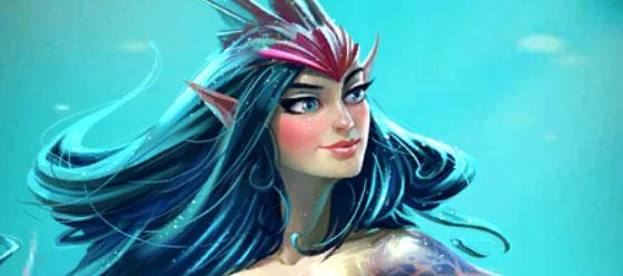Mélia est une sirène de l'Atlantide dans Empires & Puzzles.