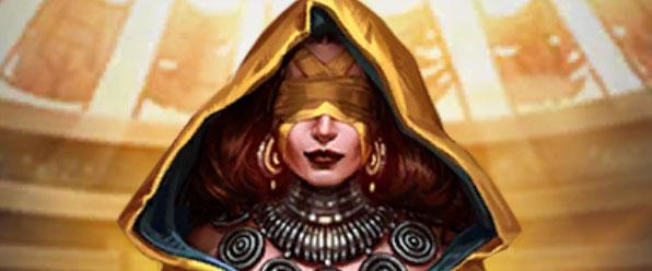Onatel et ses yeux bandés dans Empires & Puzzles.